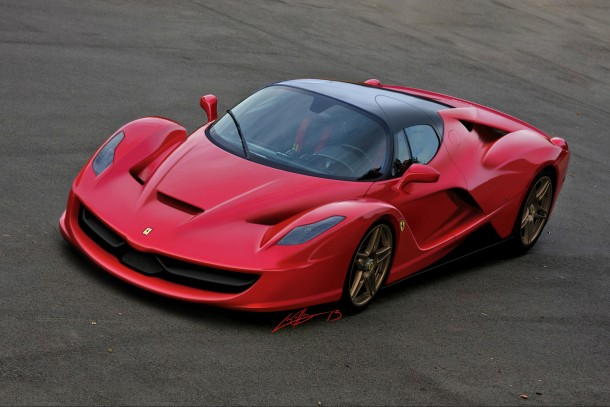 Ferrari F150 Renderings