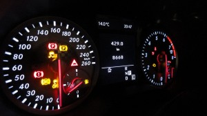 Mercedes-Benz A200 BlueEFFICIENCY - Test Drive (259)