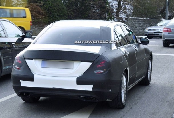 Mercedes-Benz C-Class 2014 spy photos (3)