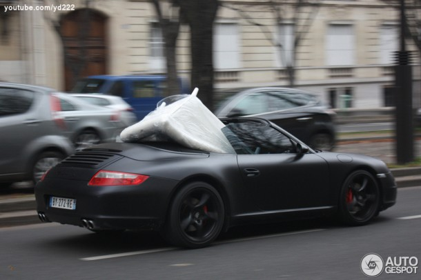 Porsche 997 Carrera S Convertible ideal for moving furniture (1)