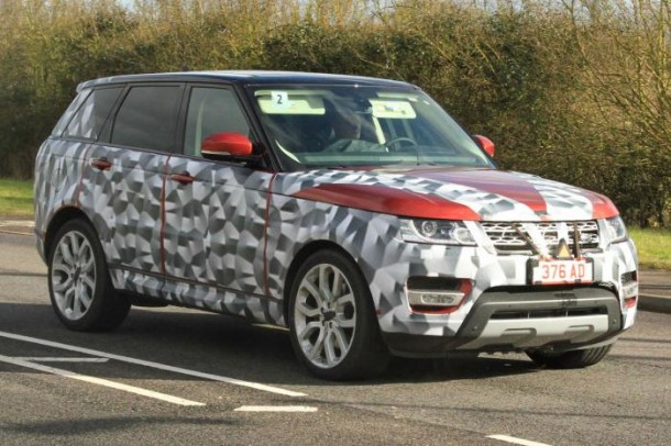 Range Rover Sport Spy Photos (1)