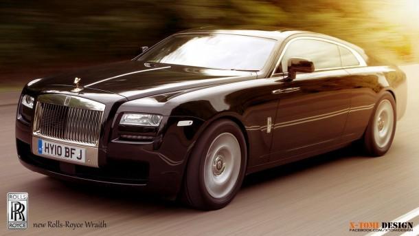 Rolls-Royce Wraith rendering