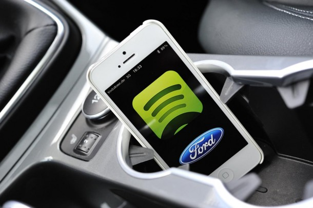 Spotify for Ford SYNC AppLink (1)