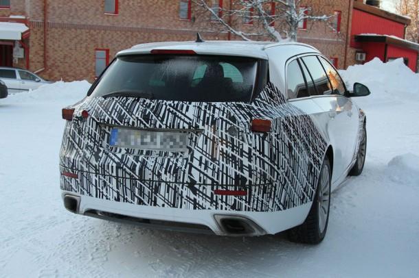 Spy Photos Opel Insignia Sports Tourer facelift 2013 (1)