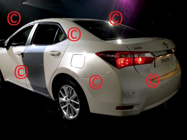 Toyota Corolla 2014 Leaked (2)