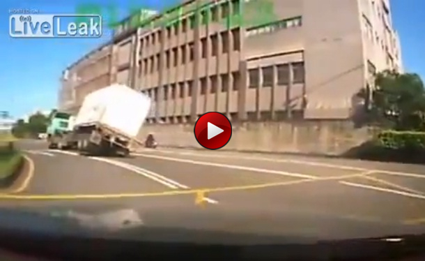 Truck Vs Scooter