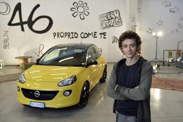 Valentino Rossi Opel Adam (1)