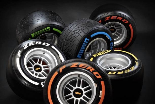 2013 F1 Pirelli Tyres
