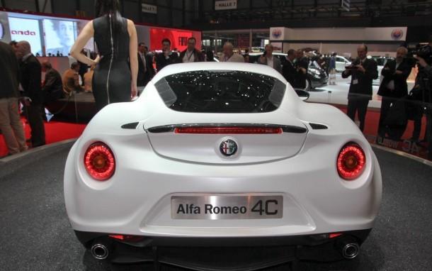 Alfa Romeo 4C Launch Edition Live in Geneva 2013 (15)