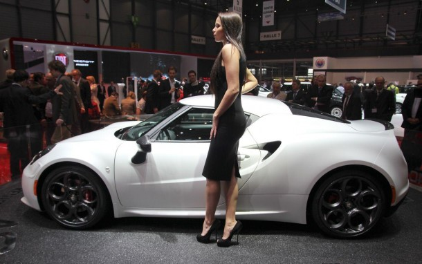 Alfa Romeo 4C Launch Edition Live in Geneva 2013 (9)