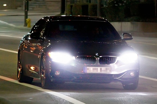 BMW 4-Series Coupe spy photo (1)