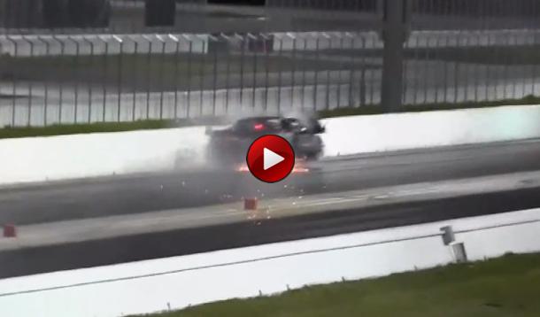 Drag Race Crash