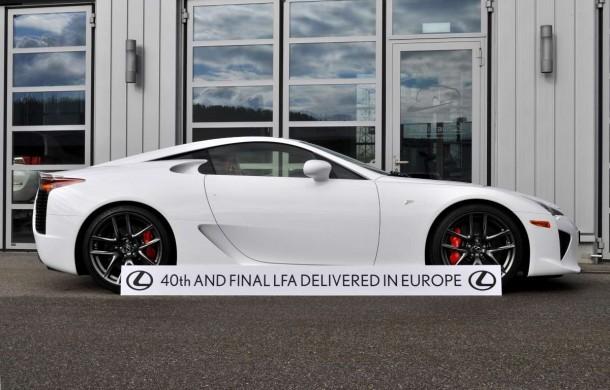 Final Lexus LFA Delivery In Europe
