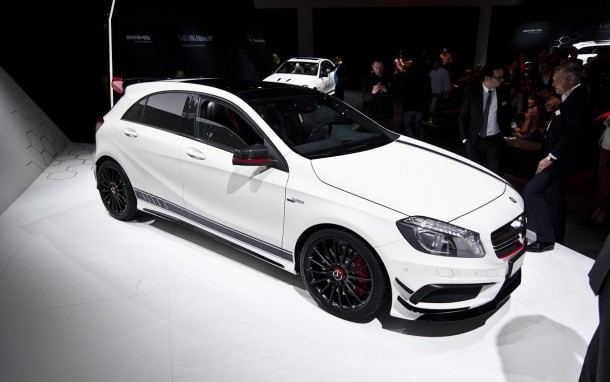 Mercedes A45 AMG Edition 1 Live in Geneva 2013 (7)