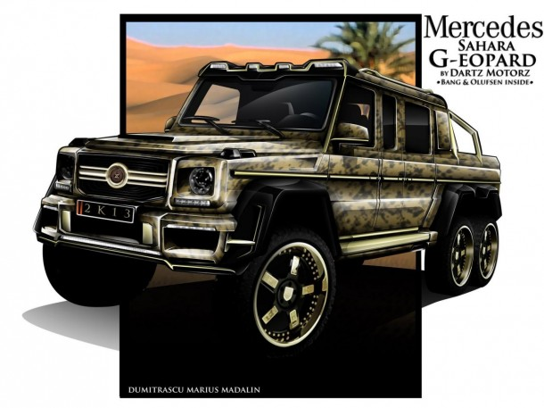 Mercedes-Benz G63 AMG 6x6 Sahara G-eopard by Dartz (1)