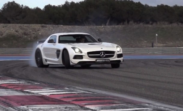 Mercedes SLS AMG Black Series- German Tyre Killer