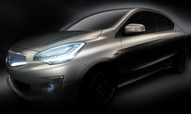 Mitsubishi G4 Compact Sedan Concept