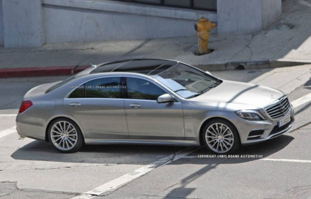 spy photoQ fully undisguised Mercedes S-Class