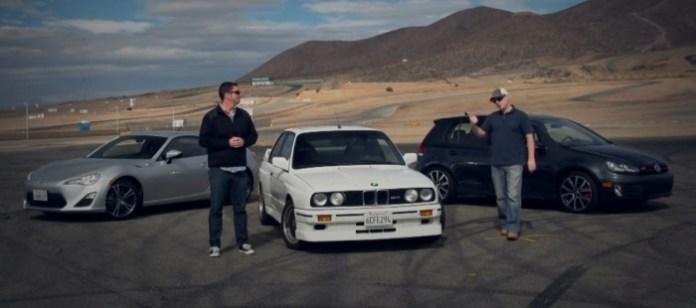 1989 BMW E30 M3 vs 2013 Scion FR-S vs 2013 Volkswagen GTI!