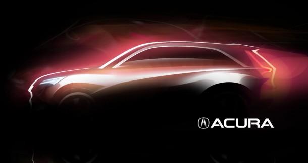 Acura Concept teaser for Shanghai auto show 2013
