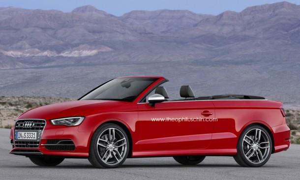 Audi S3 Cabriolet Rendering