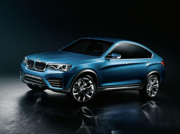 BMW X4 Concept leaked photos (1)