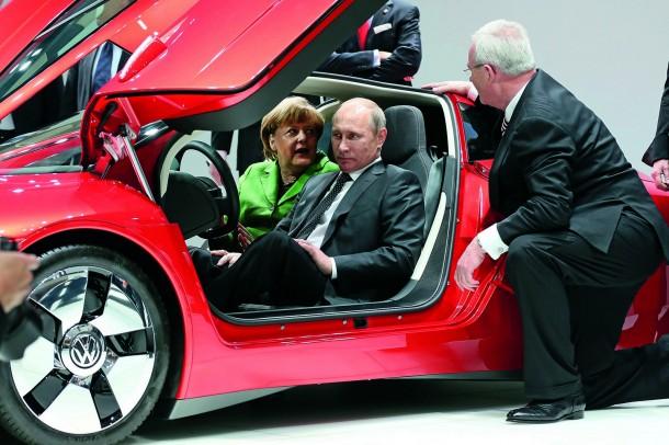 Volkswagen auf der Hannover Messe 2013