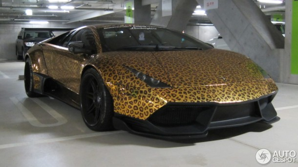 Leopard Lamborghini Murcielago (1)
