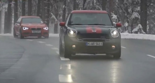 Mini Paceman JCW vs BMW M135i