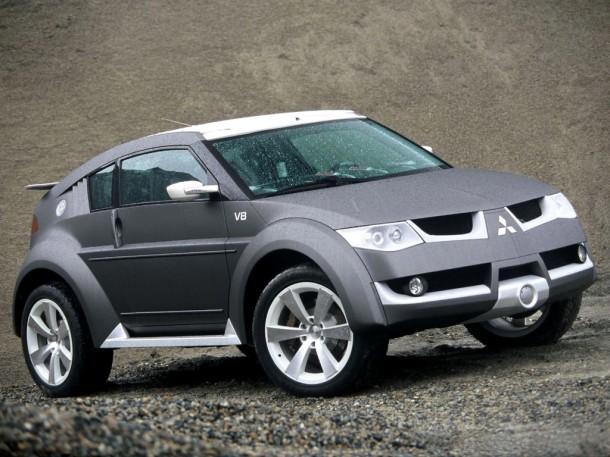 Mitsubishi Pajero EVO 2+2 Concept (1)