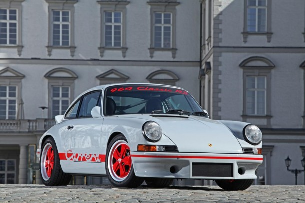 Porsche 911 (966) with 1973 911 RS 2.7 conversion kit