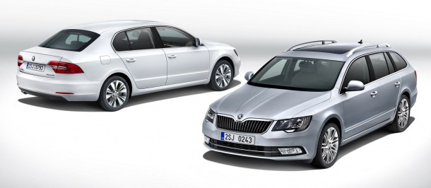 Skoda Superb facelift 2014 (1)