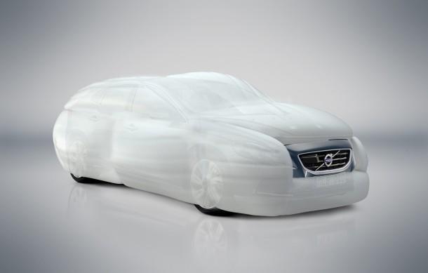 Volvo V40 air bag External Vehicle Protection system (2)