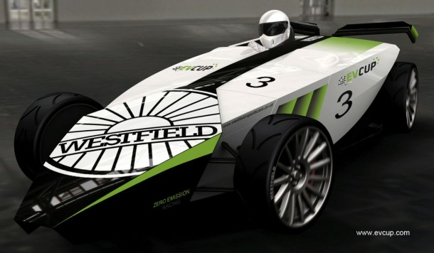 Westfield iRacer electric vehicle (2)