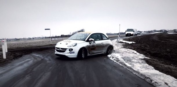 opel adam rally cup