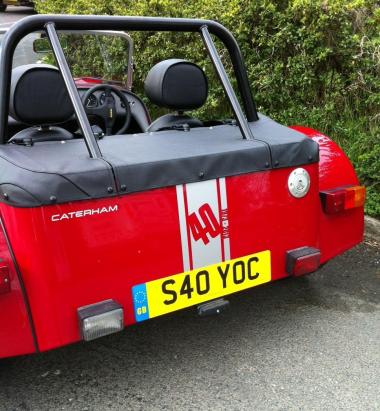 2013 Caterham Seven Limited Edition pack