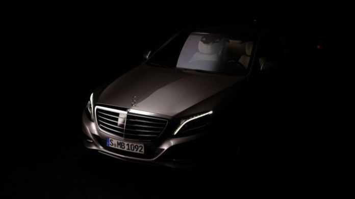 2014 Mercedes-Benz S-Class teaser photo