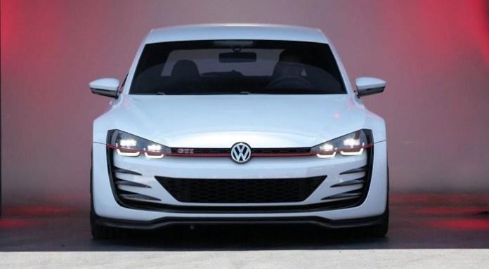 Volkswagen Design Vision GTI concept live at Wörthersee 2013