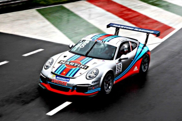 Porsche 911 GT3 Cup with MARTINI livery