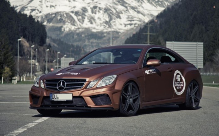 Mercedes-Benz E-Class Coupe widebody by Prior Design