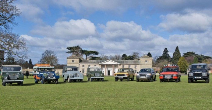 Land Rover 65th anniversary