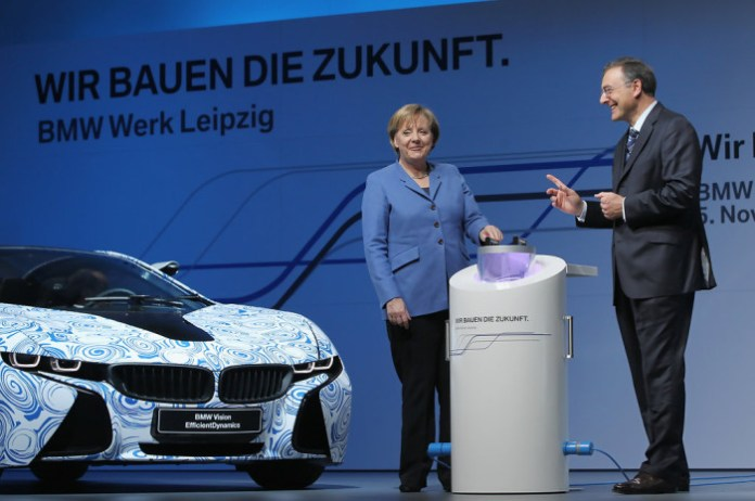 Angela+Merkel+BMW+Produce+Electric+Cars+Leipzig+R6ewjVh3f26x