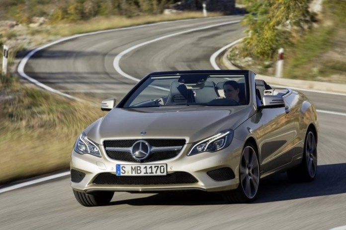 Mercedes E-Class Coupe and Cabriolet Facelift 2013 (2)
