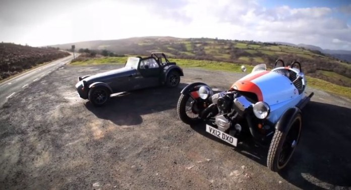 Morgan Three Wheeler Vs Caterham Seven