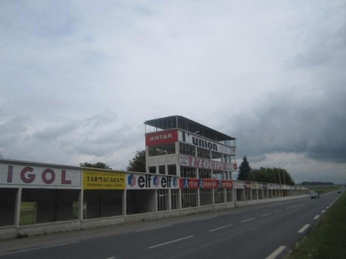 Pitlane Circuit du Reims-Gueux