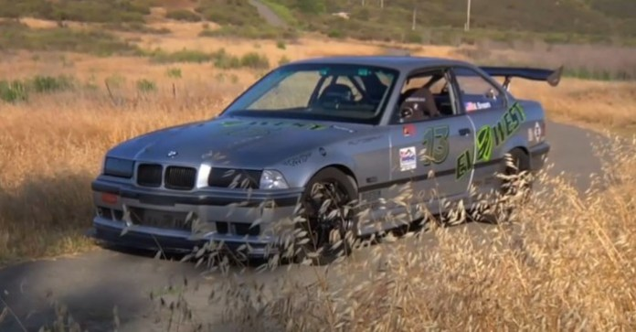 This Electric E36 Makes 850 lbft of Torque at the Wheels