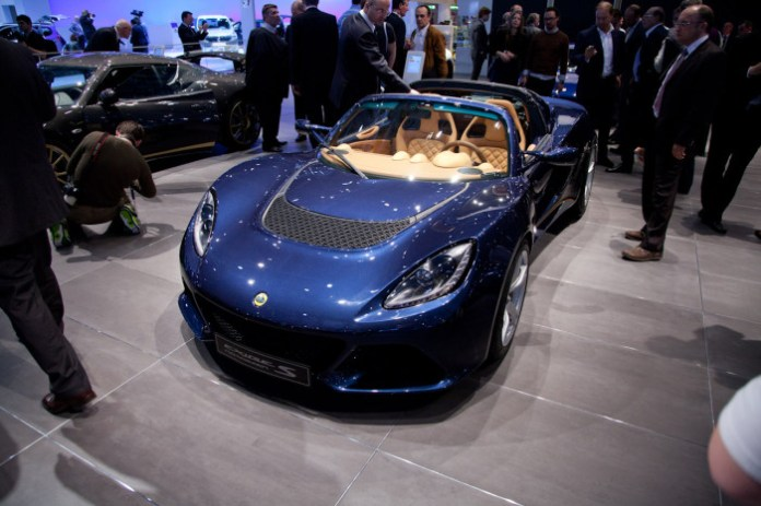 Lotus Exige S Roadster Live in Geneva 2012