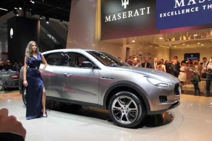 Maserati Kubang Concept Live in IAA 2011