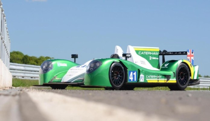 Caterham LMP2 car for 24 Hours of Le Mans