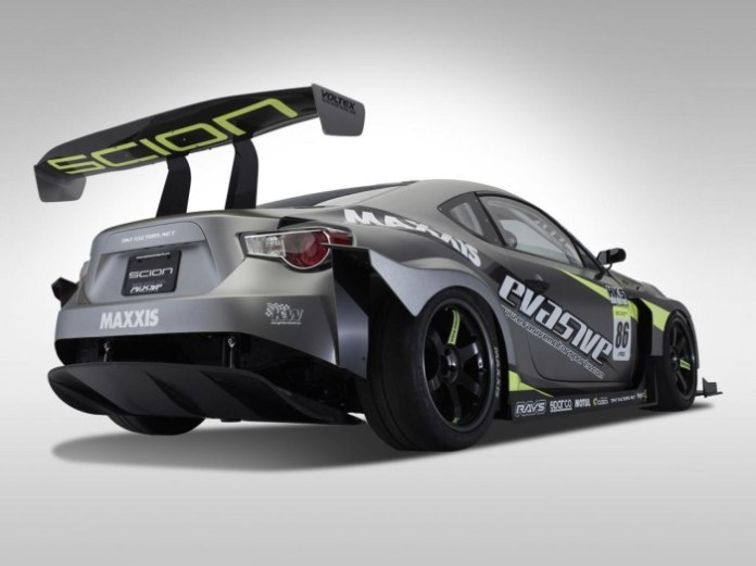 Scion FR-S for Pikes Peak Hill Climb